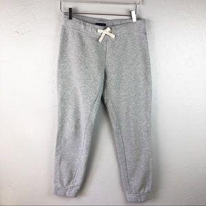TOMMY HILFIGER Gray Thick Sweat Pants Jogger Small